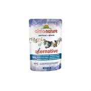 Пауч ALMO NATURE Alternative – Indonesian Mackerel для взрослых кошек с индонезийской скумбрией 91% мяса