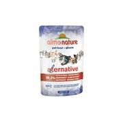Пауч ALMO NATURE Alternative для взрослых кошек с куриной грудкой 95% мяса (Chicken Breast)