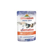 Пауч ALMO NATURE Alternative – Chicken Fillet для взрослых кошек с куриным филе 90% мяса