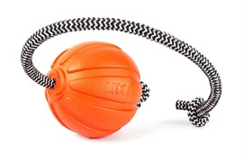 Мячик ЛАЙКЕР Корд на шнуре 7 см