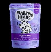 """Пауч BARKING HEADS для щенков с курицей """"Щенячьи деньки"""""""