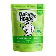 """Пауч BARKING HEADS Chop Lickin' Lamb для взрослых собак с ягненком """"Мечты об янгенке"""""""