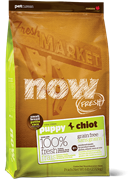 Беззерновой сухой корм NOW Grain Free Small Breed Puppy Recipe для щенков малых пород с индейкой, уткой и овощами