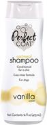 8in1 шампунь для собак Perfect Coat Natural Oatmeal овсяный успокаивающий для кожи с ароматом ванили 473 мл
