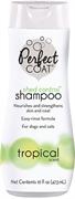 8in1 шампунь для собак Perfect Coat Shed Control против линьки с тропическим ароматом 473 мл