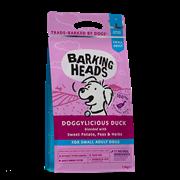 """Беззерновой сухой корм BARKING HEADS DOGGYLICIOUS DUCK для собак малых пород с уткой и бататом """"Восхитительная утка"""""""