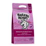 "Беззерновой сухой корм BARKING HEADS DOGGYLICIOUS DUCK для собак с уткой и бататом ""Восхитительная утка"""