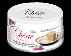 Консервы PETTRIC Cherie Complete Balanced Diet для котят мусс из курицы