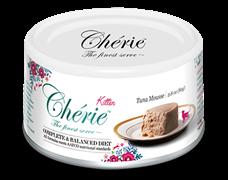 Консервы PETTRIC Cherie Complete Balanced Diet для котят мусс из тунца