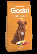 Низкозерновой cухой корм GOSBI Exclusive для взрослых собак средних пород с курицей