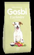 Низкозерновой cухой корм GOSBI Exclusive для взрослых собак малых пород с ягненком