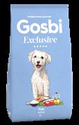 Низкозерновой cухой корм GOSBI Exclusive для взрослых собак малых пород с рыбой
