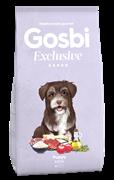 Низкозерновой cухой корм GOSBI Exclusive для щенков малых пород с курицей, рыбой и ягненком
