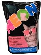 Neon Litter наполнитель силикагель, комкующийся, розовый 1.81 кг