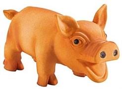"""Игрушка для собак Hunter Smart """"Свинка"""" 10 см латекс"""