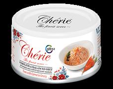 Консервы PETTRIC Cherie Urinary Care Complete Balanced Diet для взрослых кошек тунец с морковью в соусе