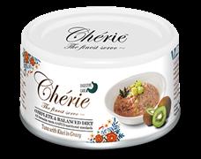 Консервы PETTRIC Cherie Digestive Care Complete Balanced Diet для взрослых кошек тунец с киви в соусе