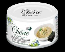 Консервы PETTRIC Cherie Digestive Care Complete Balanced Diet для взрослых кошек с курицей с морскими водорослями в соусе
