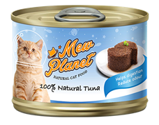 Консервы MEW PLANET для взрослых кошек паштет из тунца