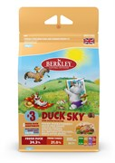 Беззерновой cухой корм BERKLEY для взрослых собак мелких и средних пород №3 утка с овощами фруктами и ягодами