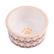 Миска керамическая для собак КерамикАрт с орнаментом