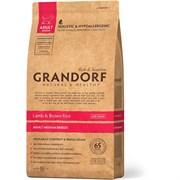 Сухой корм GRANDORF Lamb/Rice Adult Medium для взрослых собак средних пород с ягненком и рисом