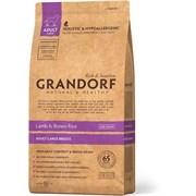 Сухой корм GRANDORF Lamb/Rice Adult Large Breed (Maxi) для взрослых собак крупных пород с ягненком и рисом