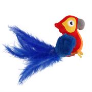 Игрушка GIGWI для кошек Попугай со звуковым чипом