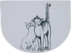 Коврик Trixie под миску Кошечка