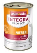 Консервы Animonda Integra Renal с говядиной для собак при ХПН