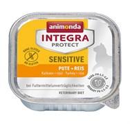 Консервы Animonda Integra Sensitive c индейкой и рисом для кошек при пищевой аллергии