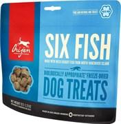 Лакомство Orijen FD Six Fish Dog  для щенков и собак