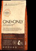 Сухой корм ONE&ONLY Junior Turkey&Rice для юниоров всех пород от 4 месяцев с индейкой и рисом
