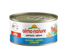 Консервы ALMO NATURE HFC Jelly Adult Cat Mackerel для взрослых кошек со скумбрией