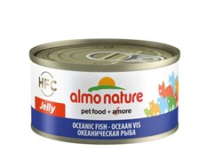 Консервы ALMO NATURE HFC Jelly Adult Cat Oceanic Fish для взрослых кошек с океанической рыбой