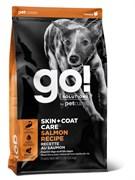 Сухой корм GO! NATURAL для щенков и взрослых собак со свежим лососем и овсянкой