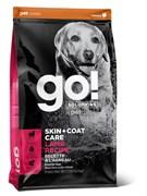 Сухой корм GO! NATURAL для щенков и взрослых собак со свежим ягненком