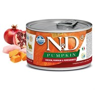 Консервы FARMINA ND DOG CHICKEN, PUMPKIN/POMEGRANATE MINI для взрослых собак малых пород с курицей, тыквой и гранатом