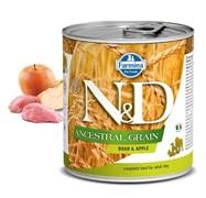 Консервы FARMINA ND DOG ANCESTRAL GRAIN BOAR/APPLE для взрослых собак всех пород с кабаном и яблоком