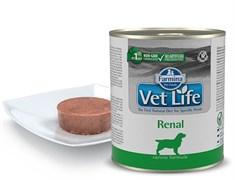 Консервы FARMINA VETLIFE NATURAL DIET DOG RENAL для взрослых собак всех пород с курицей и рыбой диета при заболеваниях почек