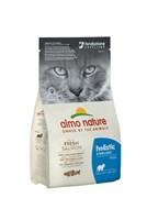 Сухой корм ALMO NATURE Functional – Adult Sterilized Salmon and Rice для кастрированных кошек с лососем и рисом