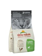 Сухой корм ALMO NATURE Functional Adult Anti-Hairball Chicken and Rice для взрослых кошек контроль вывода шерсти с курицей и рисом