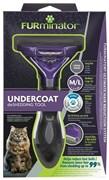FURminator M/L для кошек весом больше 4,5 кг с длинной шерстью (FUR Cat Undercoat M/L Long Hair)