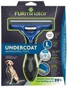 FURminator L для собак крупных пород с короткой шерстью (FUR Dog Undercoat L Short Hair)