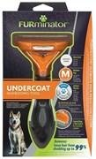 FURminator M для собак средних пород с короткой шерстью (FUR Dog Undercoat M Short Hair)