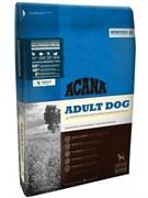 Беззерновой сухой корм ACANA Heritage Adult Dog для взрослых собак всех пород с цыпленком и зеленью