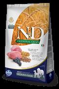 Низкозерновой cухой корм FARMINA ND для взрослых собак средних и крупных пород с ягненком и черникой