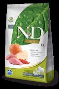 Беззерновой cухой корм FARMINA ND для взрослых собак средних и крупных пород кабан с яблоком