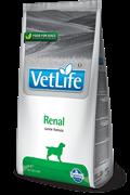 Сухой корм FARMINA VET LIFE RENAL для собак диета при заболеваниях почек