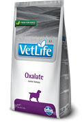 Сухой корм FARMINA VET LIFE Oxalate для собак диета при МКБ оксалатного типа